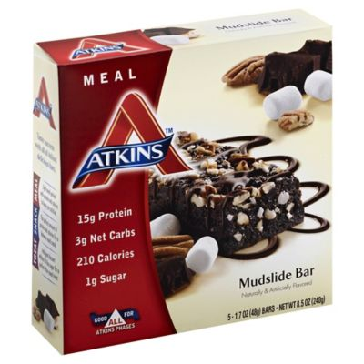 Atkins Advantage 5-Pack Mudslide Meal Bar