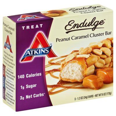 Atkins Endulge 5-Pack Peanut Caramel Cluster Treat Bar