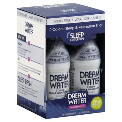 Dreamwater 4-Pack 2.5 oz. Dietary Supplement in Snoozeberry