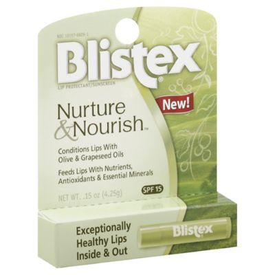 Blistex Nurture & Nourish 0.15 oz. SPF 15 Lip Protectant Balm
