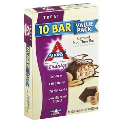 Atkins™ Endulge Caramel Nut Chew Bar 10-Count Value Pack Snack Bars