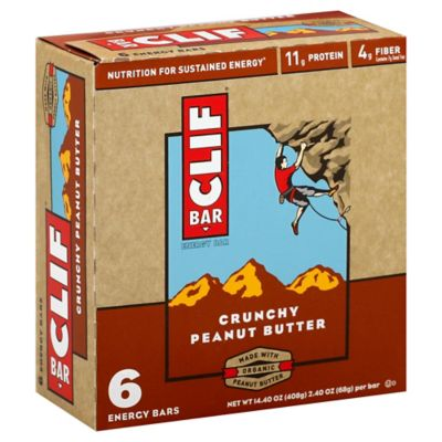 Clif Bar® 6-Pack Crunchy Peanut Butter 2.4 oz. Energy Bar