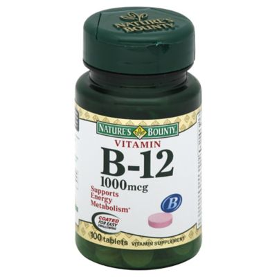 100-Count Vitamin B-12 1000 Mcg Tablets