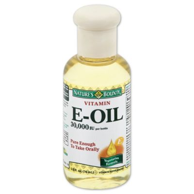 Nature's Bounty 2.5 Ounce Natural Vitamin E-Oil 30,000 IU