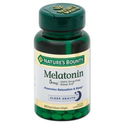 Nature's Bounty 60-Count Super Strength Melatonin 5 mg Softgels