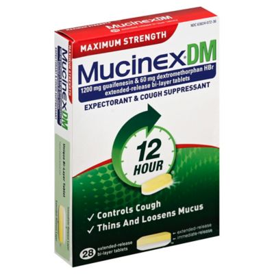 Mucinex 28-Count Maximum Strength DM Tablets