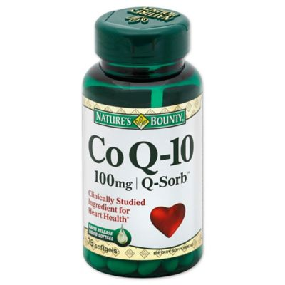 Nature's Bounty 60-Count Co Q-10 100mg Softgels