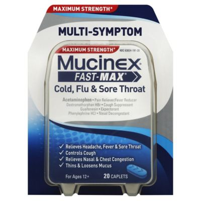 Mucinex Cough Cold & Flu