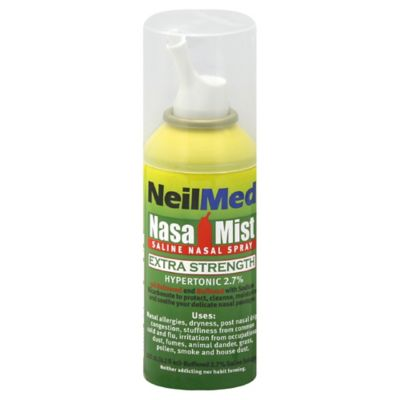 Nasa Mist® 125 ml. Extra Strength Hypertonic Saline Nasal Spray