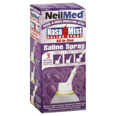 NeilMed® NasaMist® 6 oz. All-In-One Saline Nasal Spray