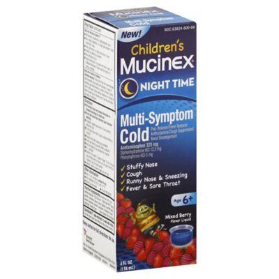Mucinex 4 oz. Children's Multi Symptom Night in Very Berry