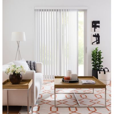 Real Simple® Vertical 78-Inch x 84-Inch Blind in Frost