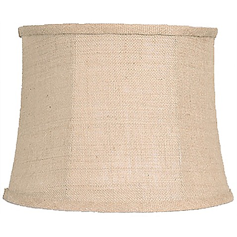 mix match medium 15 inch softback burlap lamp shade in. Black Bedroom Furniture Sets. Home Design Ideas