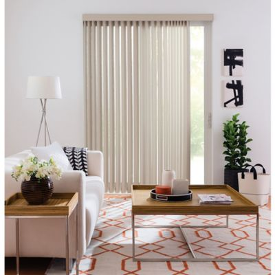 Real Simple® Vertical 78-Inch x 84-Inch Blind in Beige