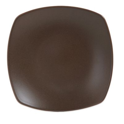 Gibson Paradiso Square Platter in Brown