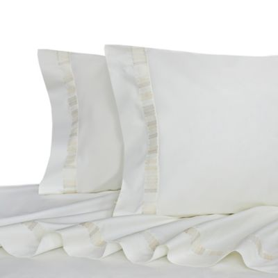 upstairs by Dransfield & Ross Tea Tree Queen Sheet Set