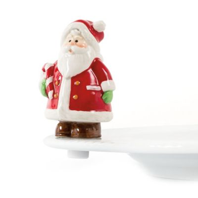 Fitz and Floyd® Christmas Clicks Ceramic Figures (Set of 2)