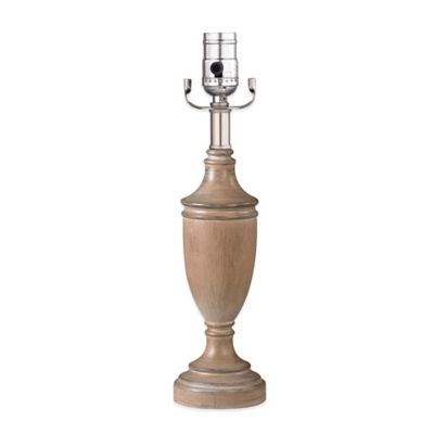 Mix & Match 14-Inch Small Wooden Trophy Lamp Base