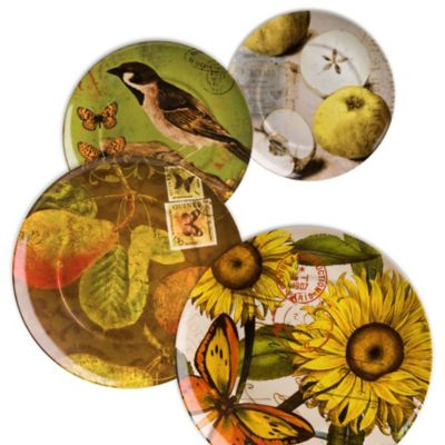 Waechtersbach Nature Accent Plates (Set of 4)
