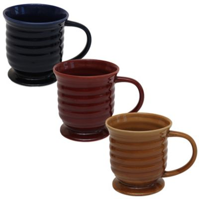 Baum Jumbo Helix Mug in Red