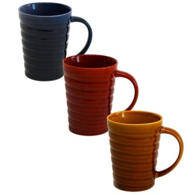 Baum Helix Mug in Red