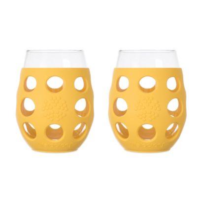 Yellow Wine Glass