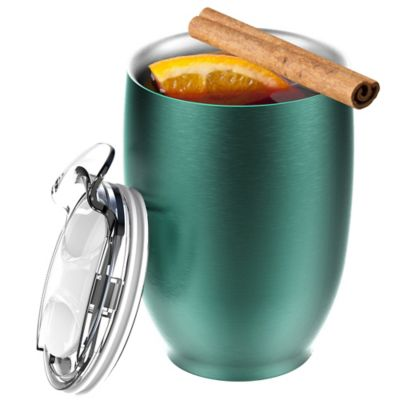 Green Insulated Drinkware