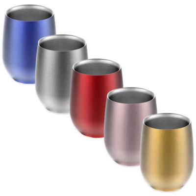 Imperial Wine Insulated Cup in Silver