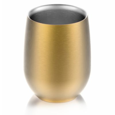 Buy stainless steel insulated cup from bed bath beyond - Anti spill wine glass ...