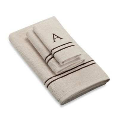 "Mochaivory A"" Hand Towels"