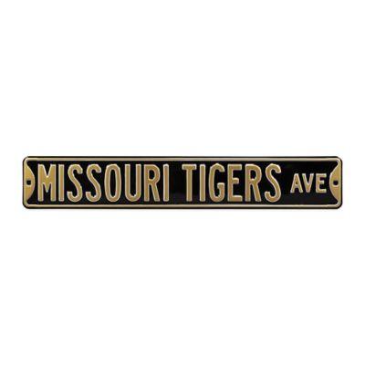 University of Missouri Steel Street Sign