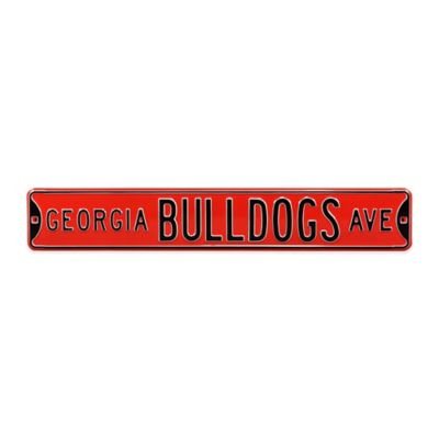 University of Georgia Steel Street Sign