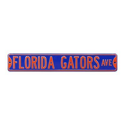 University of Florida Steel Street Sign