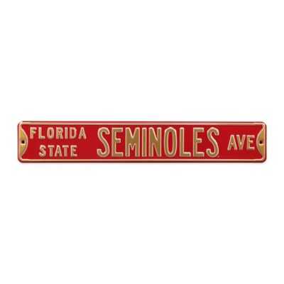 Florida State Steel Street Sign