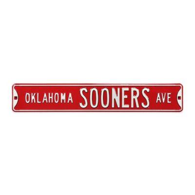 University of Oklahoma Steel Street Sign