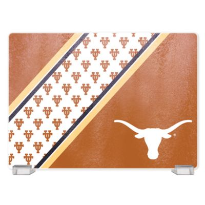 University of Texas Tempered Glass Cutting Board