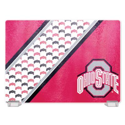 Ohio State University Tempered Glass Cutting Board