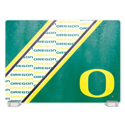 University of Oregon Tempered Glass Cutting Board