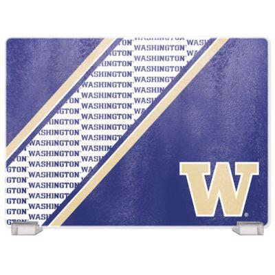 University of Washington Tempered Glass Cutting Board