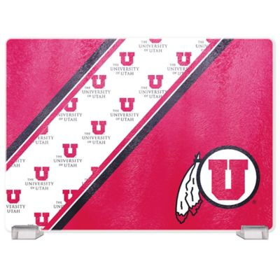 University of Utah Tempered Glass Cutting Board