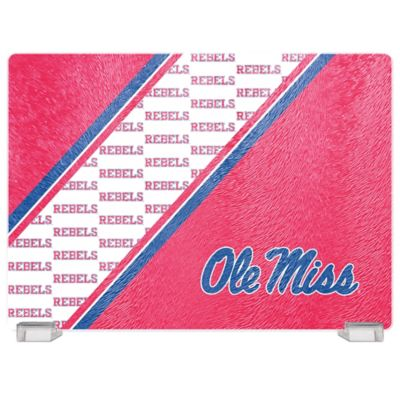 University of Mississippi Tempered Glass Cutting Board