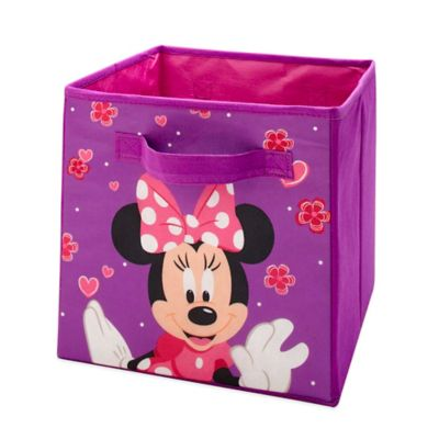 Disney® Minnie Mouse Collapsible Storage Bin