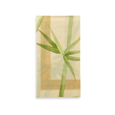 Croscill® Bamboo 16-Count Paper Guest Towels