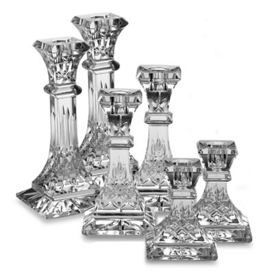 Waterford® Lismore Crystal Candlestick 4-Inch Pair