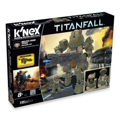 K'NEX® Titanfall™ Militia Ogre Titan Building Set