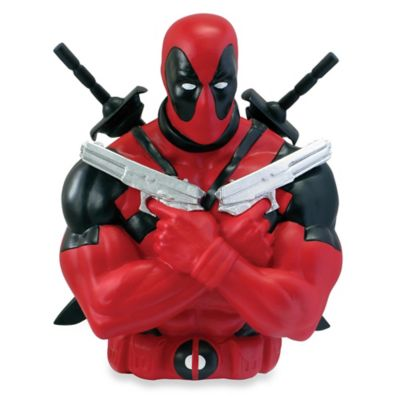 Marvel® Deadpool Bust Bank