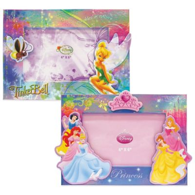 Disney® Princesses 4-Inch x 6-Inch Magnetic Picture Frames (Set of 2)
