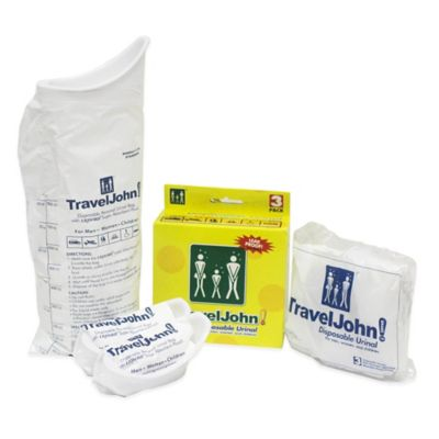 Travel John Portable Toilet 3-Pack