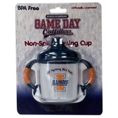 University of Illinois 8 oz. Infant No-Spill Sippy Cup