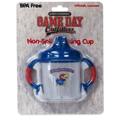 University of Kansas 8 oz. Infant No-Spill Sippy Cup